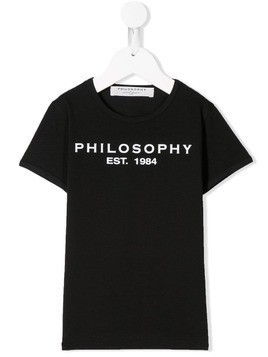 Philosophy Di Lorenzo Serafini Kids logo patch sweatshirt - Black