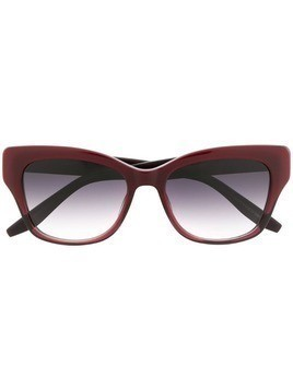 Barton Perreira cat eye sunglasses - Red