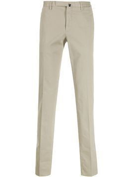 Incotex straight leg trousers - NEUTRALS