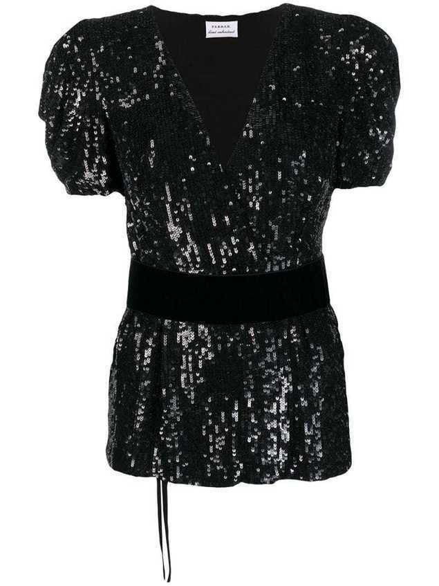 P.A.R.O.S.H. Goody blouse - Black