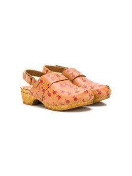 Bobo Choses Apples clogs - Brown