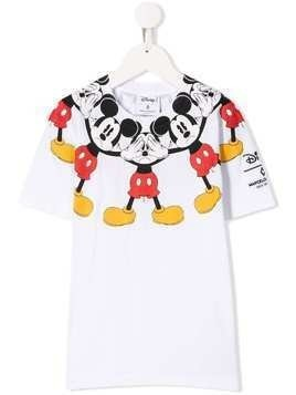 Marcelo Burlon County Of Milan Kids Mickey T-shirt - White