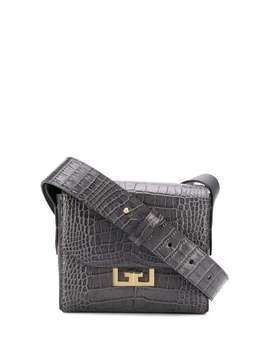 Givenchy crocodile-effect shoulder bag - Grey