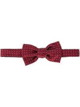 Lanvin classic embroidered bow tie