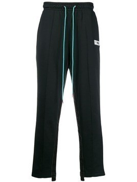Puma side stripe track pants - Black