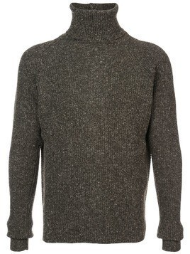 Jan Jan Van Essche ribbed turtleneck sweater - Grey