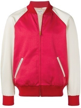 Levi's Vintage Clothing two-tone bomber jacket - Red