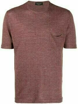 Roberto Collina fine-knit pocket T-Shirt - Red