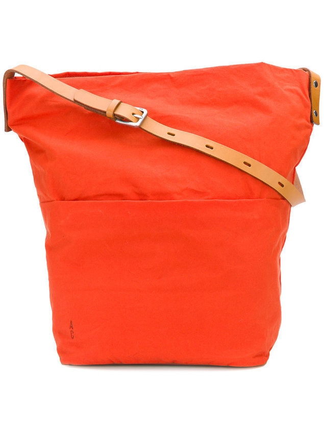 Ally Capellino relaxed tote bag - Yellow & Orange
