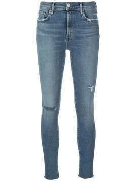 Agolde distressed skinny jeans - Blue