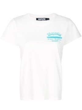 Adaptation round neck T-shirt - White