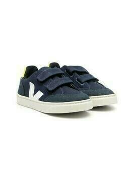 Veja Kids V-12 touch strap sneakers - Blue