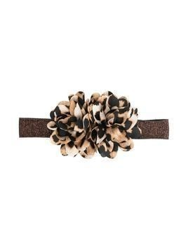 Caffe' D'orzo floral-detail hair band - Neutrals