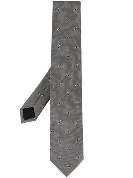 D'urban adjustable paisley tie - Grey
