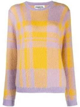 Essentiel Antwerp Timberlake jacquard sweater - Purple