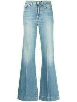 7 For All Mankind high-rise flared jeans - Blue