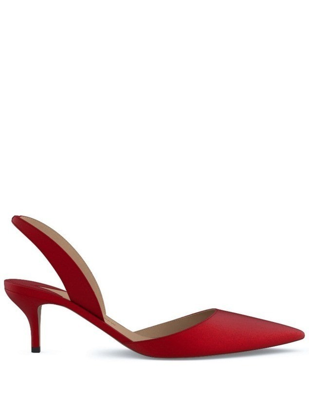 Paul Andrew Rhea 55 pumps - Red
