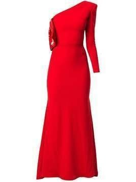 Alex Perry Atlas evening dress - Red
