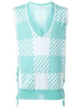 A(Lefrude)E Sax sleeveless jumper - Blue