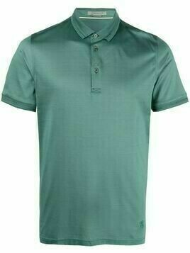 Corneliani short-sleeves cotton polo shirt - Green