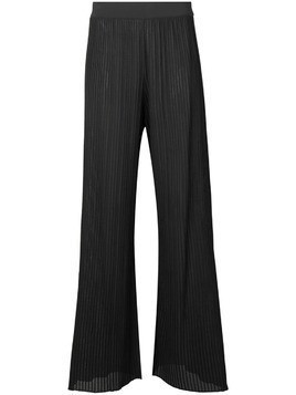 Dusan flared ribbed trousers - Grey
