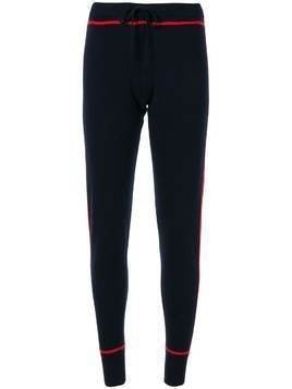 Madeleine Thompson cashmere Dormouse track pants - Blue