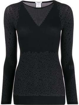 Wolford Cheetah-print sweater - Grey