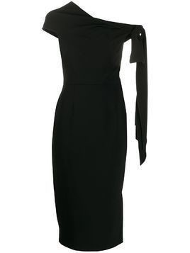 Roland Mouret Howe one shoulder dress - Black