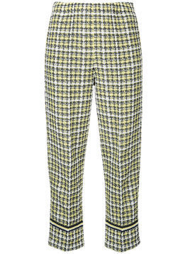 COOHEM Spring tweed pants - Yellow & Orange