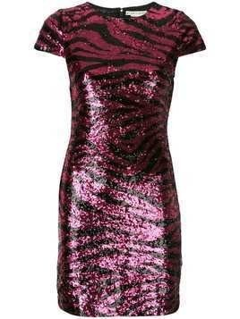 Alice+Olivia Nat sequinned mini dress - Pink