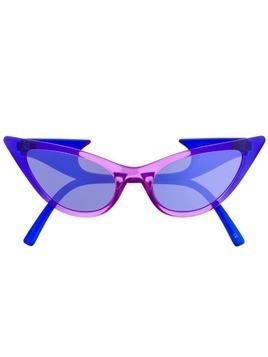Le Specs x Adam Selman The Prowler sunglasses - Purple