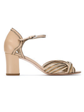 Sarah Chofakian leather sandals - Nude & Neutrals