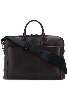 Troubadour Generation Pathfinder Slim briefcase - Brown
