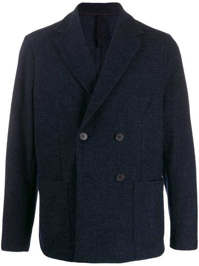 Harris Wharf London dobule-breasted blazer - Blue