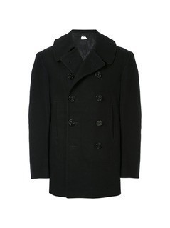 Fake Alpha Vintage 1940s U.S. Navy peacoat - Blue