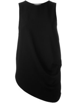 JW Anderson draped asymmetric tank top - Black