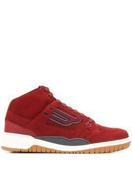 Bally King high-top sneakers - Red