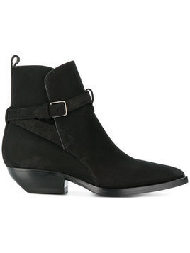 Saint Laurent Theo 40 ankle boots - Black