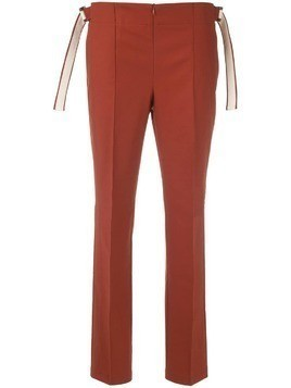Alcaçuz Lotus trousers - Brown