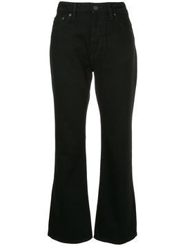 Hysteric Glamour - flared cropped jeans - Damen - Cotton - 27 - Black