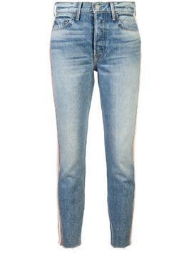 Grlfrnd stripped jeans - Blue
