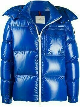 Moncler padded zip-front jacket - Blue