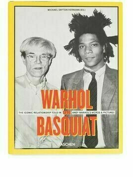 TASCHEN Warhol On Basquat book - Yellow