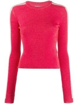 Fiorucci long-sleeve logo sweater - Red