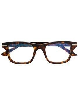 Cutler & Gross square frame glasses - Brown
