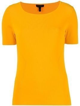 Escada short sleeved knit top - Yellow