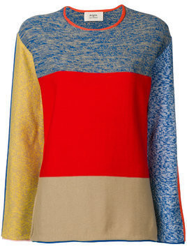 Ports 1961 colour block jumper - Multicolour