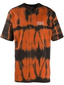 Mauna Kea tie-dye T-shirt - Orange