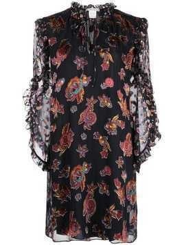 Alice+Olivia Julius paisley print dress - Black