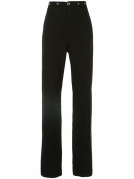 Bassike slouch chinos - Black